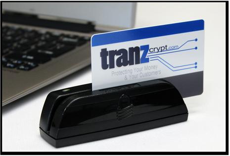 Tranzcrypt Magtek usb encrypted card reader