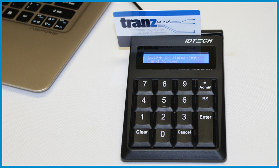 Tranzcrypt.com Encrypted Key Entry Device